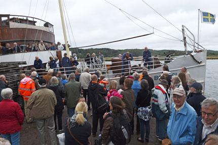 Passagerare vid Bohuslän